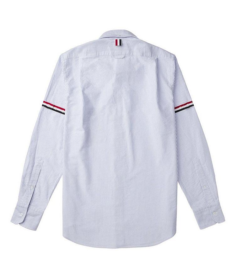 Grosgrain-Trimmed Cotton Shirt image 2