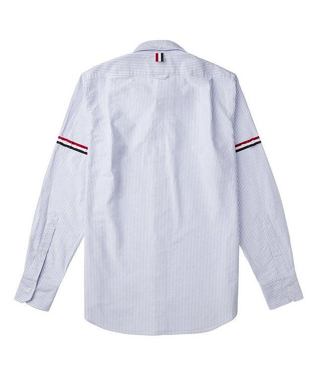 Grosgrain-Trimmed Cotton Shirt picture 3