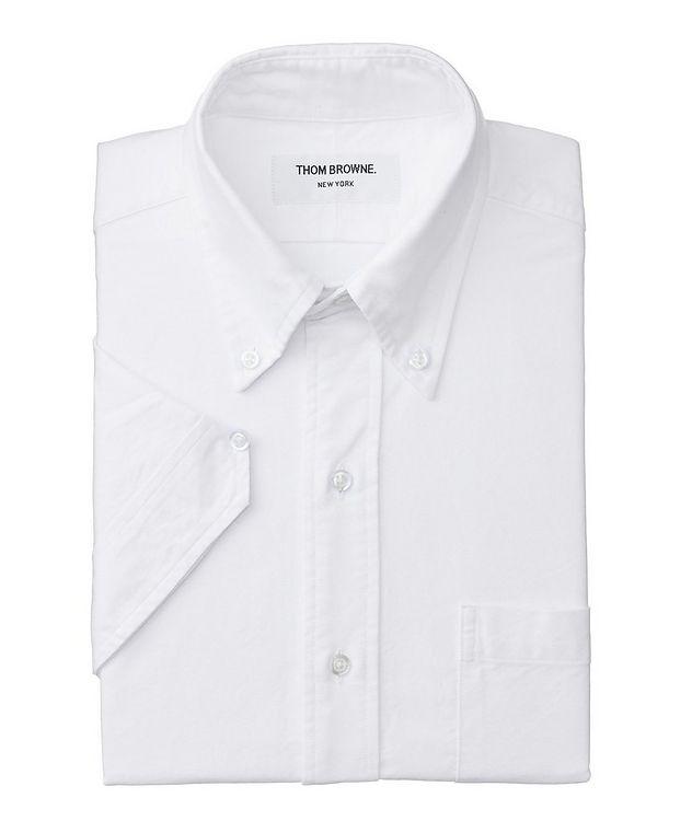 Short-Sleeve Grosgrain-Trimmed Shirt picture 1