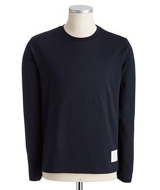 Thom Browne Long-Sleeve Cotton T-Shirt