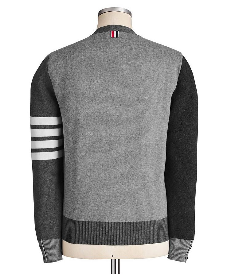 Colour-Blocked Knit Cardigan image 1