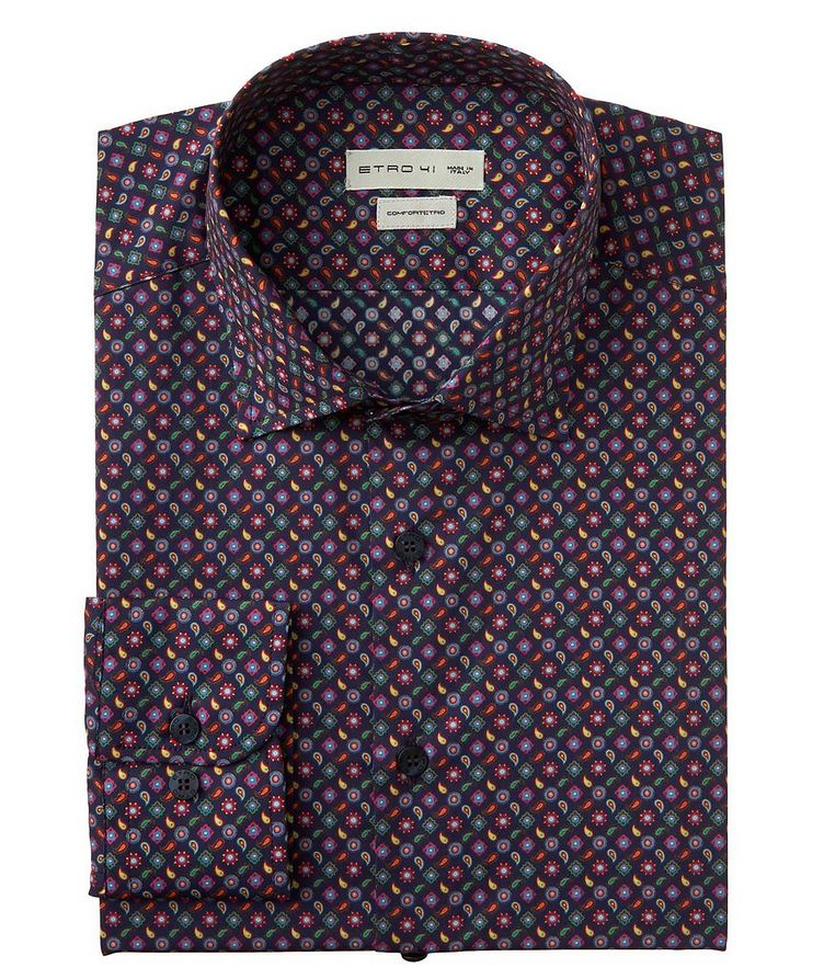 Paisley-Printed Cotton Shirt image 0