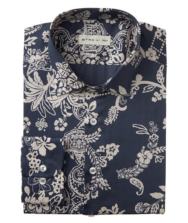 Bandana-Printed Cotton Shirt picture 1