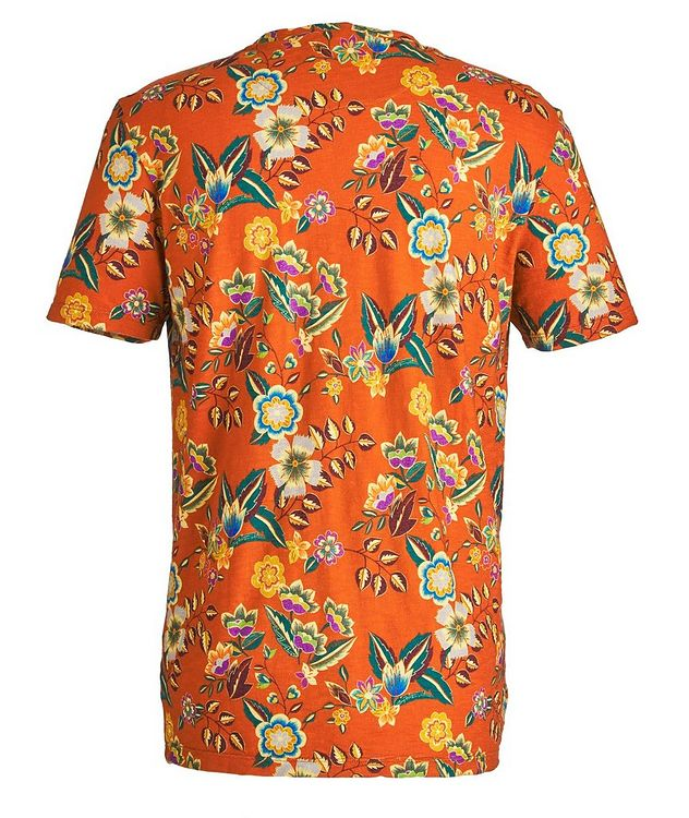Botanical-Printed Cotton T-Shirt picture 2