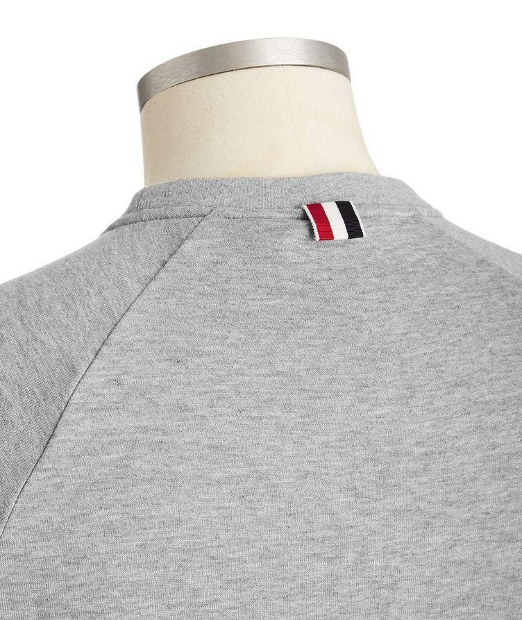 Raglan-Sleeve Cotton Sweatshirt image 1