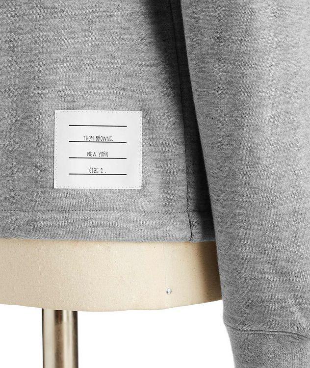 Raglan-Sleeve Cotton Sweatshirt picture 3