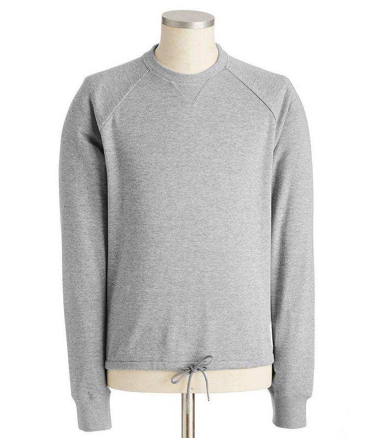 Raglan-Sleeve Cotton Sweatshirt image 0