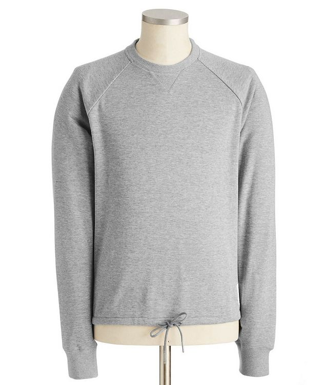 Raglan-Sleeve Cotton Sweatshirt picture 1