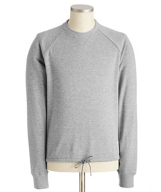 Thom Browne Raglan-Sleeve Cotton Sweatshirt