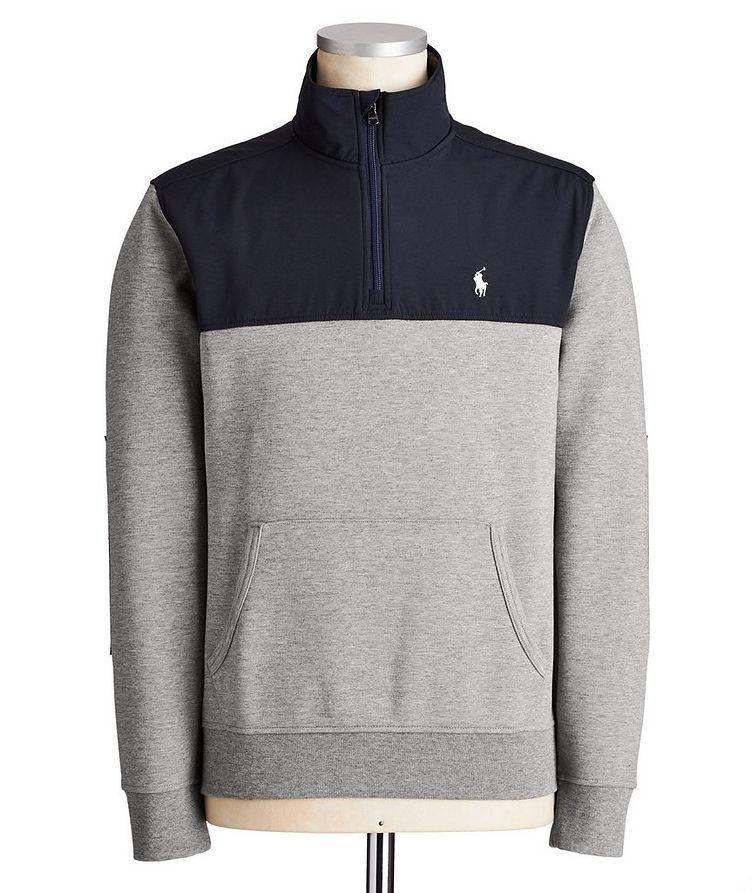Half-Zip Sweatshirt image 0