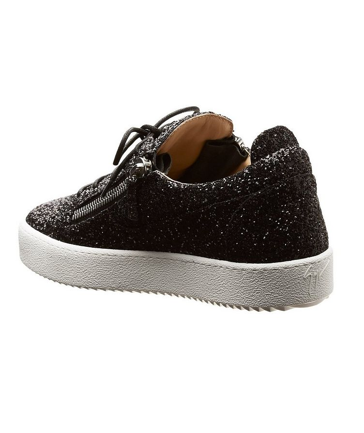 Glitter-Covered Sneakers image 1