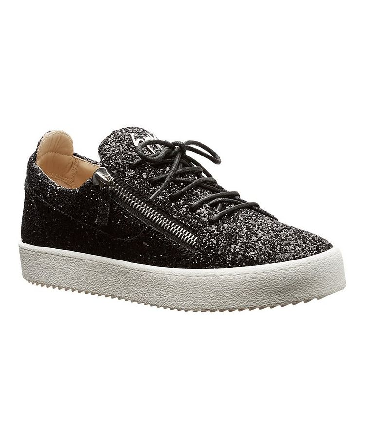 Glitter-Covered Sneakers image 0