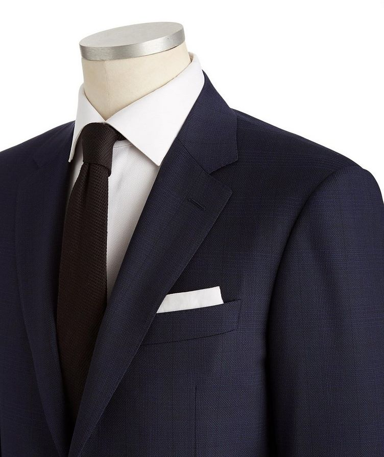 Contemporary Fit Glen Checked Suit image 1