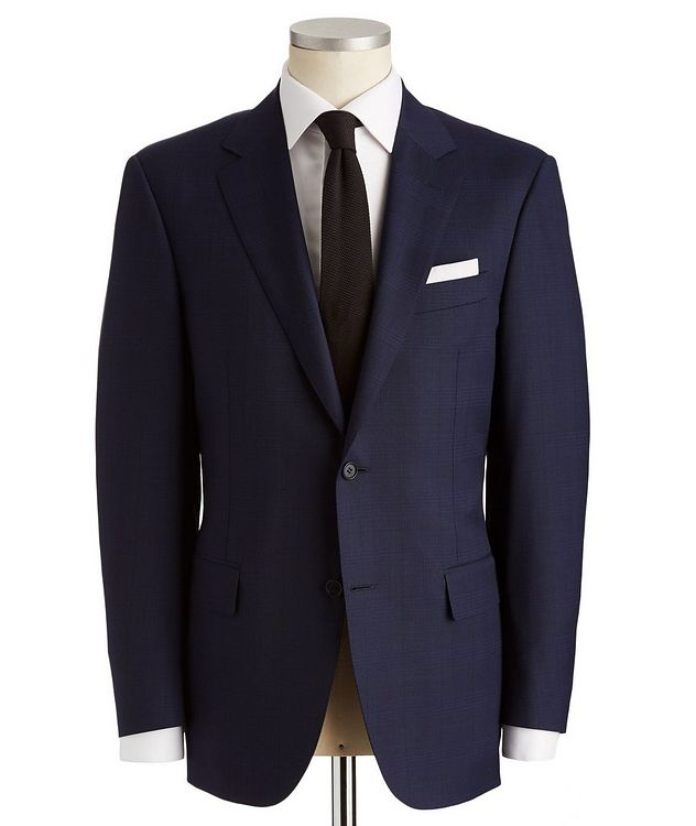 Contemporary Fit Glen Checked Suit picture 1