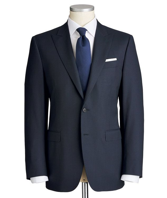 Slim Fit Checked Suit picture 1
