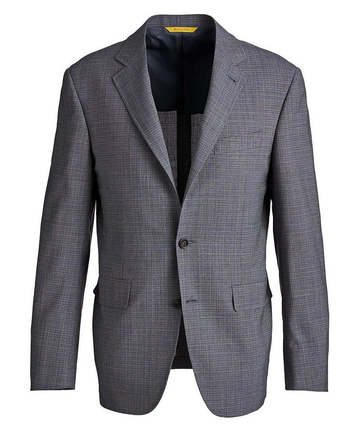 Kei Impeccabile Micro-Grid Suit image 0