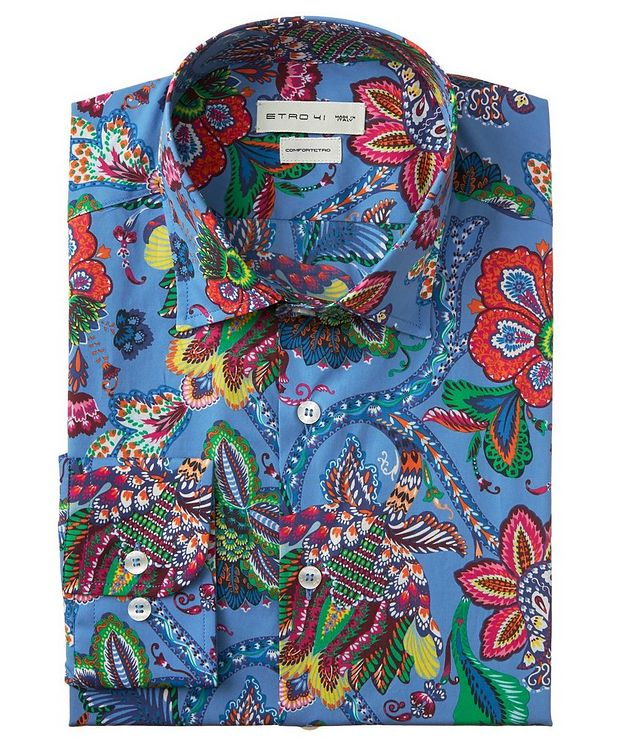 Paisley-Printed Cotton Shirt picture 1