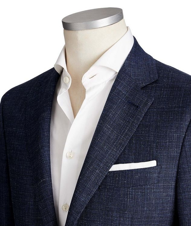 Kei Wool, Silk & Linen Sports Jacket picture 2