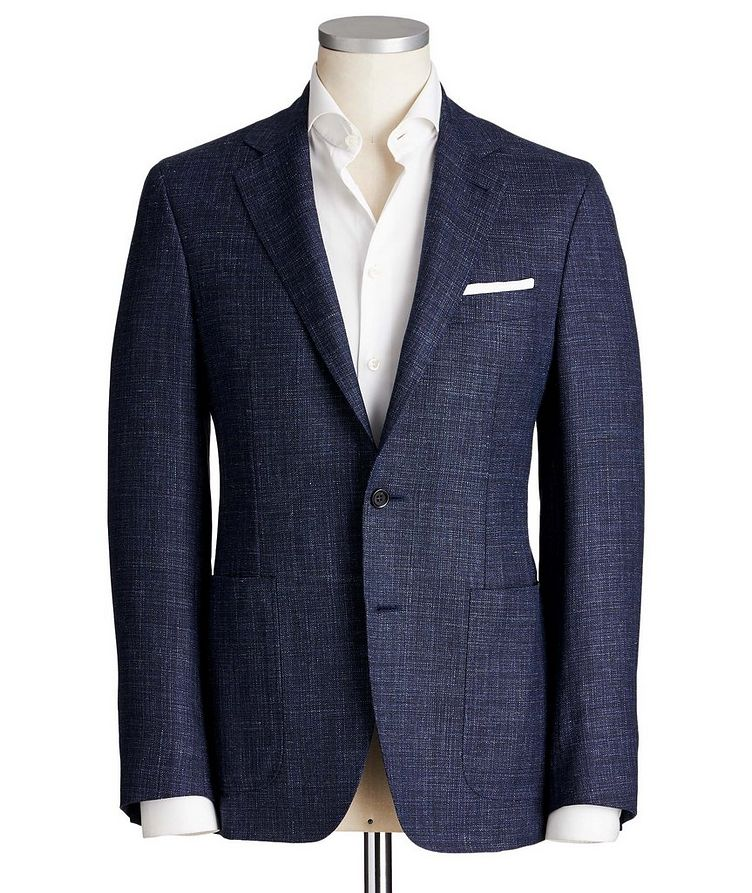 Kei Wool, Silk & Linen Sports Jacket image 0
