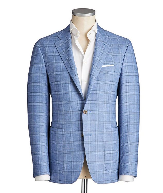Kei Stretch-Wool Sports Jacket picture 1