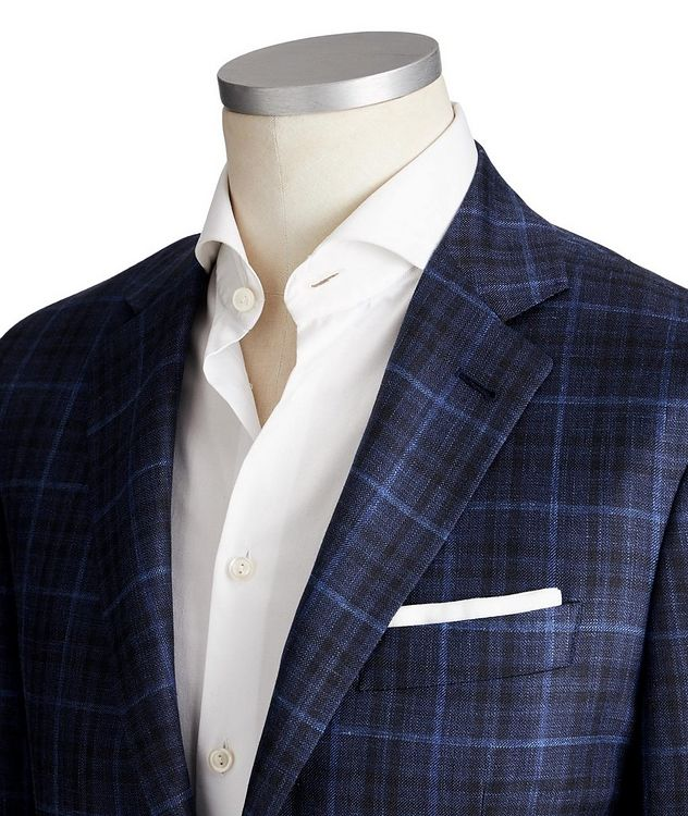 Kei Wool, Silk & Linen Sports Jacket picture 2