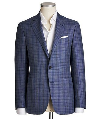 Canali Kei Wool, Silk & Linen Sports Jacket