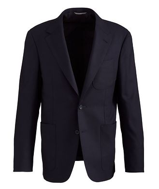 Canali Stretch-Wool Sports Jacket