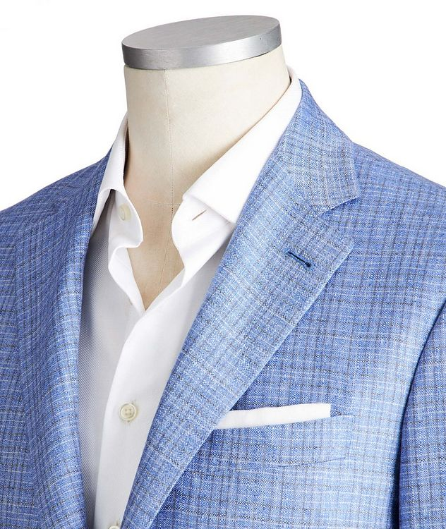 Kei Silk-Cashmere Sports Jacket picture 2