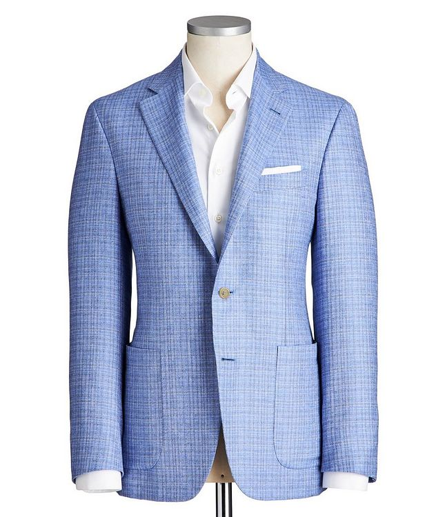 Kei Silk-Cashmere Sports Jacket picture 1