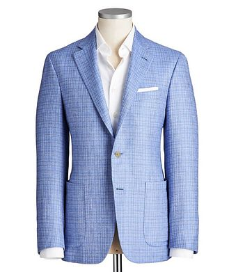 Canali Kei Silk-Cashmere Sports Jacket