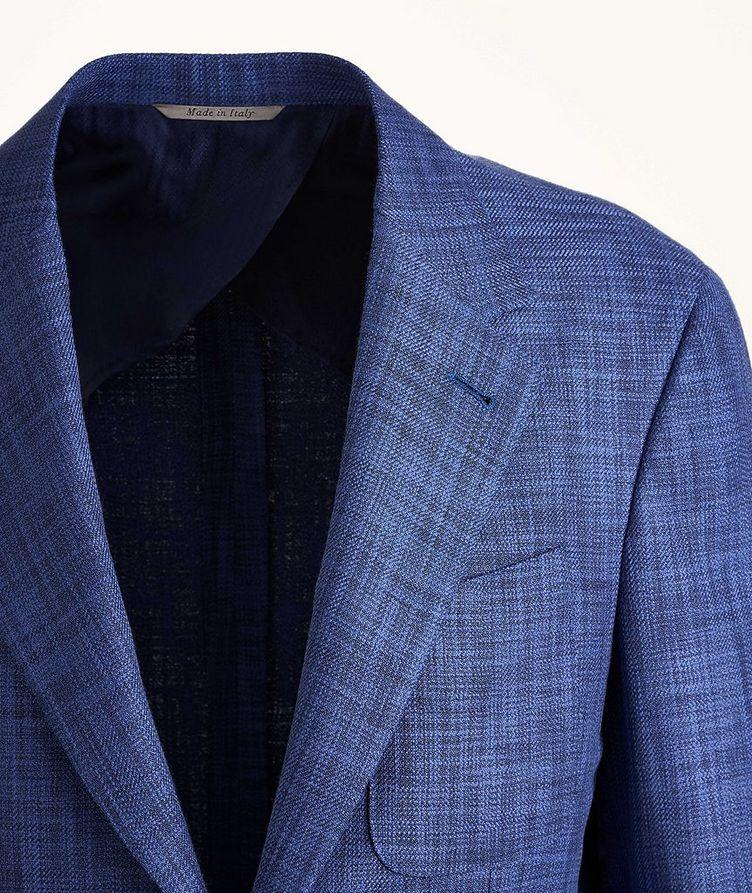 Open Weave Cotton-Wool-Silk Sport Jacket image 2
