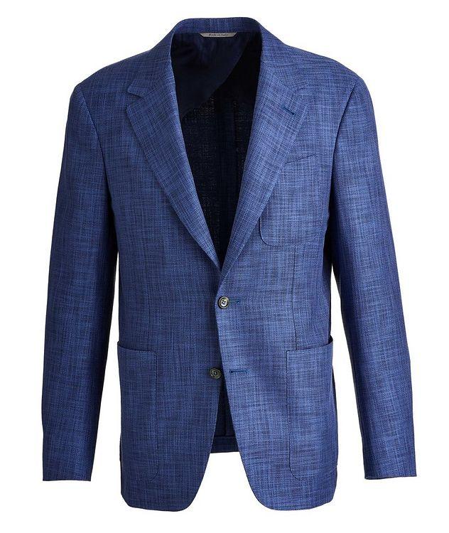 Open Weave Cotton-Wool-Silk Sport Jacket picture 1