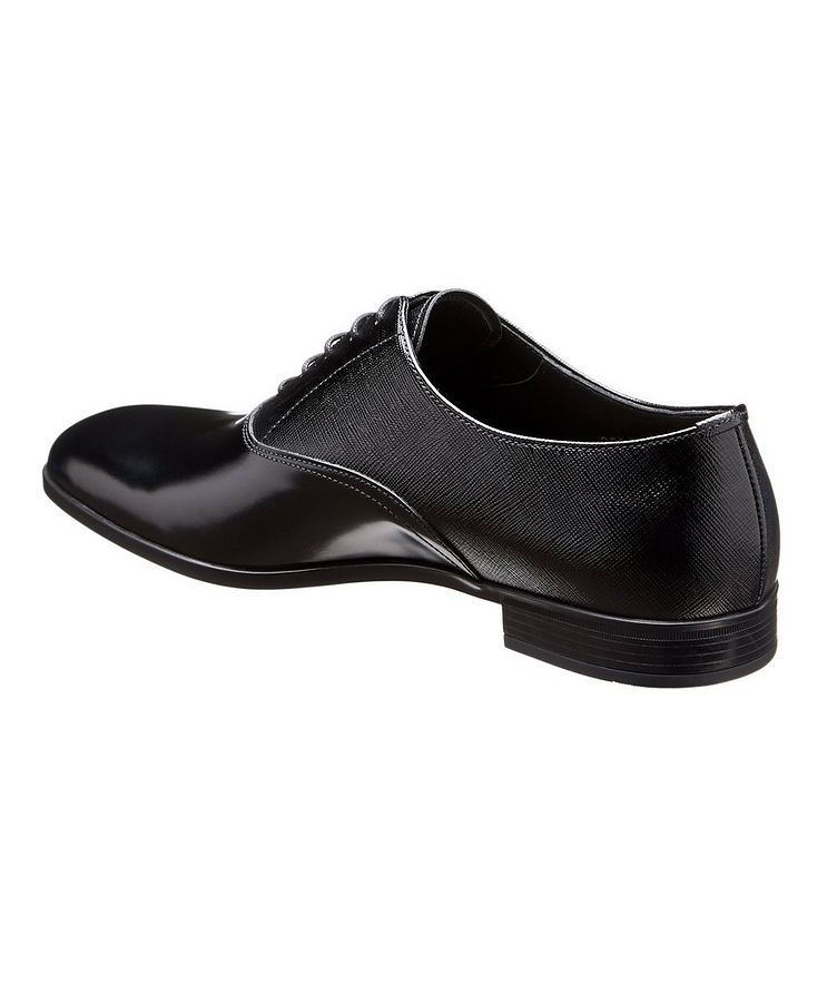 Saffiano Leather Oxfords image 1