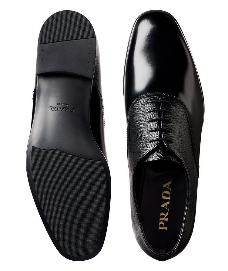 Saffiano Leather Oxfords image 2