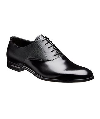 Prada Saffiano Leather Oxfords