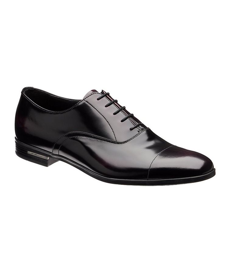 Burnished Cap-Toe Oxfords image 0