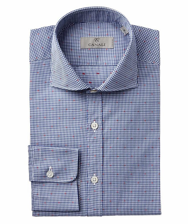Gingham Check-Printed Cotton Shirt image 0