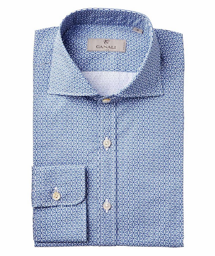 Neat-Printed Cotton Shirt image 0