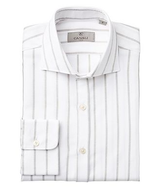 Canali Striped Cotton Shirt