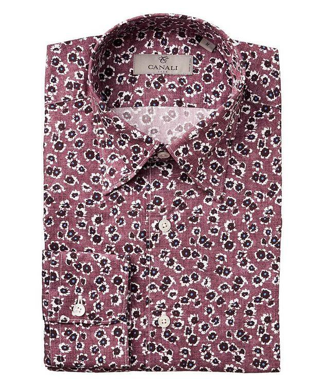 Botanical-Printed Cotton Shirt picture 1