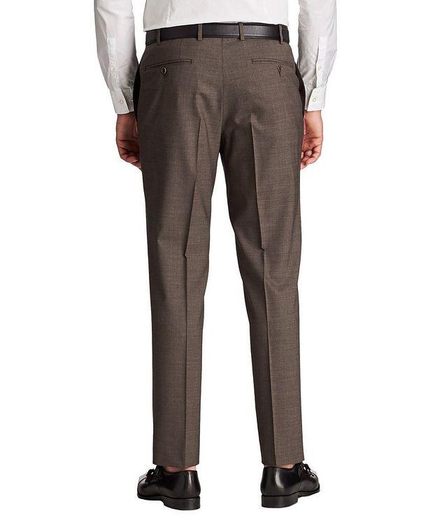 Pantalon habillé en laine de coupe amincie picture 2