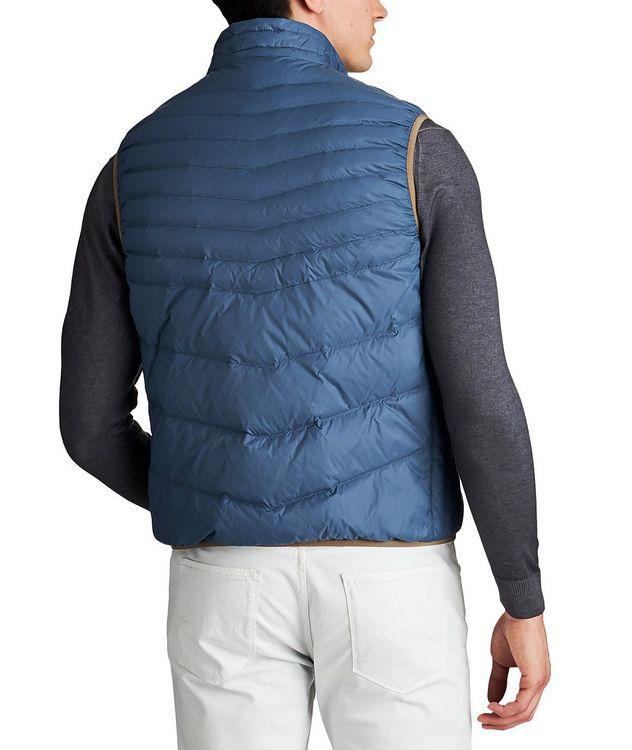 Water-Repellent Nylon Vest picture 2