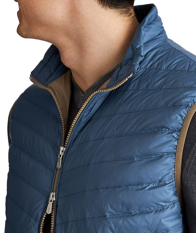 Water-Repellent Nylon Vest picture 4