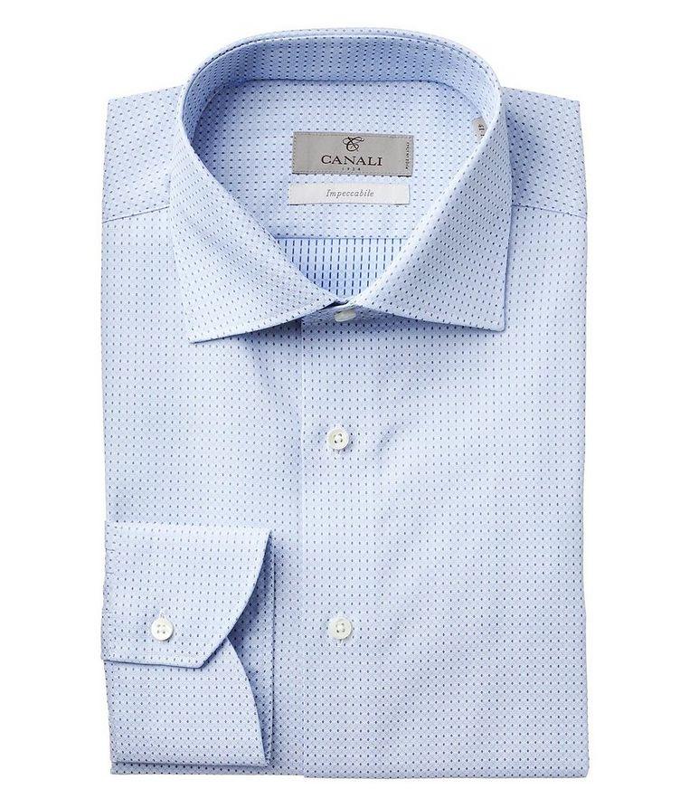 Chemise habillée en tissu Impeccabile à motif géométrique image 0