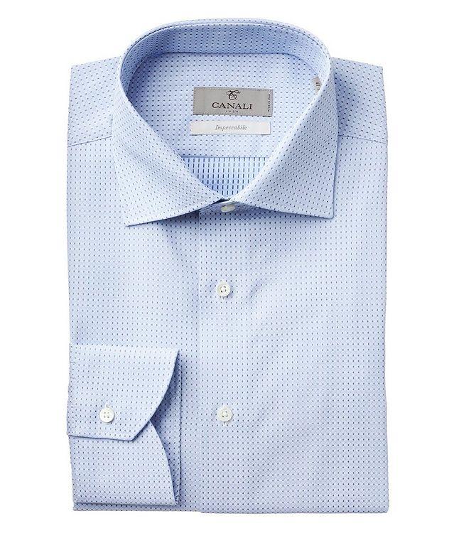 Chemise habillée en tissu Impeccabile à motif géométrique picture 1