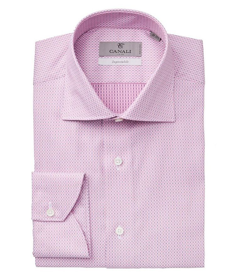 Impeccabile Printed Cotton Dress Shirt image 0
