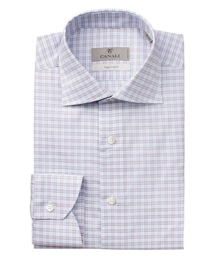 Checkered Impeccabile Dress Shirt image 0