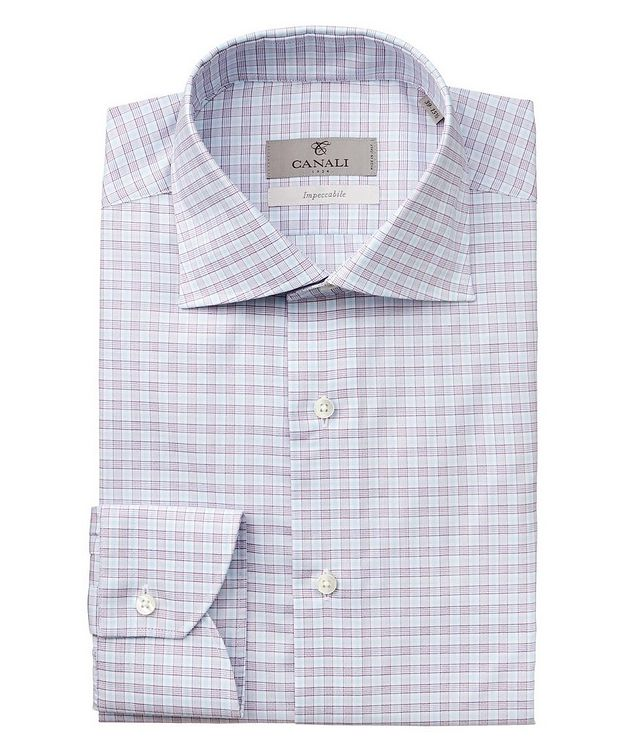 Checkered Impeccabile Dress Shirt picture 1