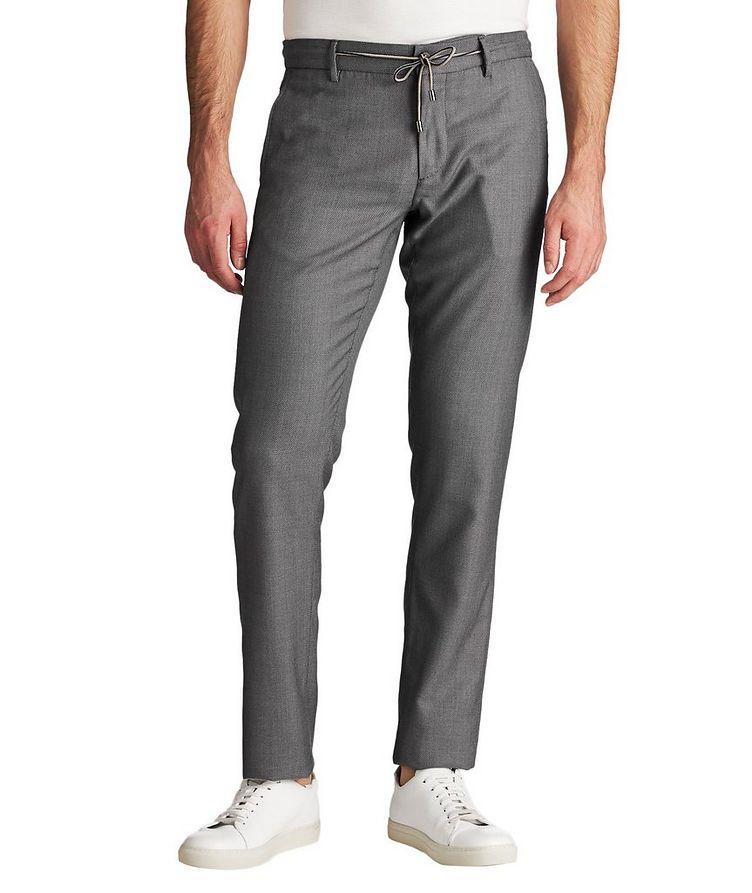 Drawstring Impeccabile Wool Pants image 0