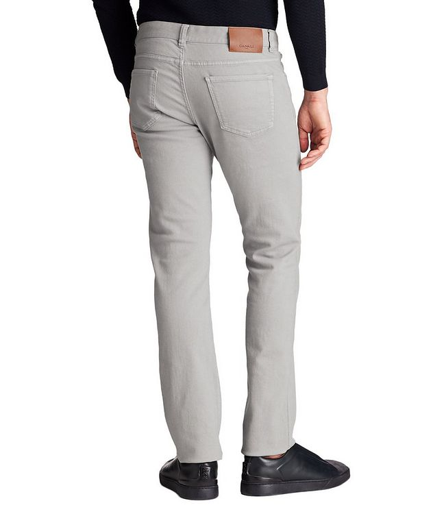 Slim Fit Stretch-Cotton Jeans picture 2